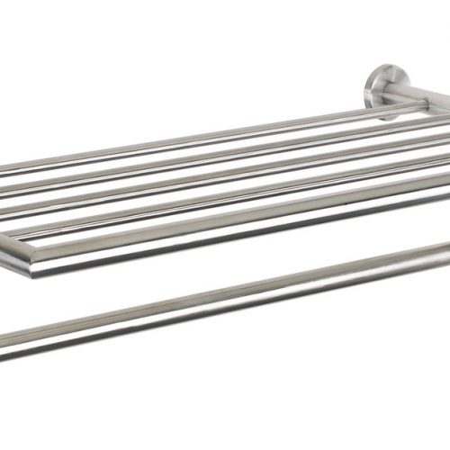 Urban Steel Bathroom Towel Rack in Stainless Steel PZ40