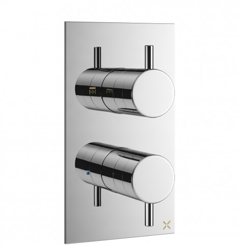 Mike Pro Thermostatic Shower Valve Chrome PRO1000RC