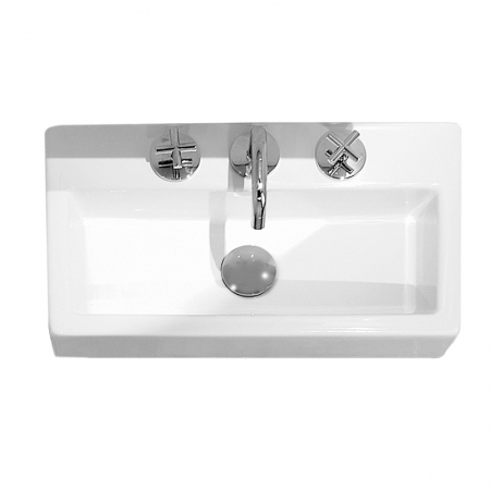 Saneux Quadro Cloakroom One Tap Hole Wash basin QU27