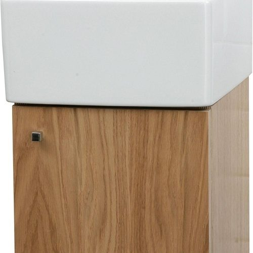 Saneux Quadro Light Oak Unit ONLY Wall Mounted QU30C-LO-0