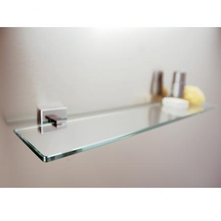 Saneux QUADRO 60cm Bathroom Glass shelf QU390-0