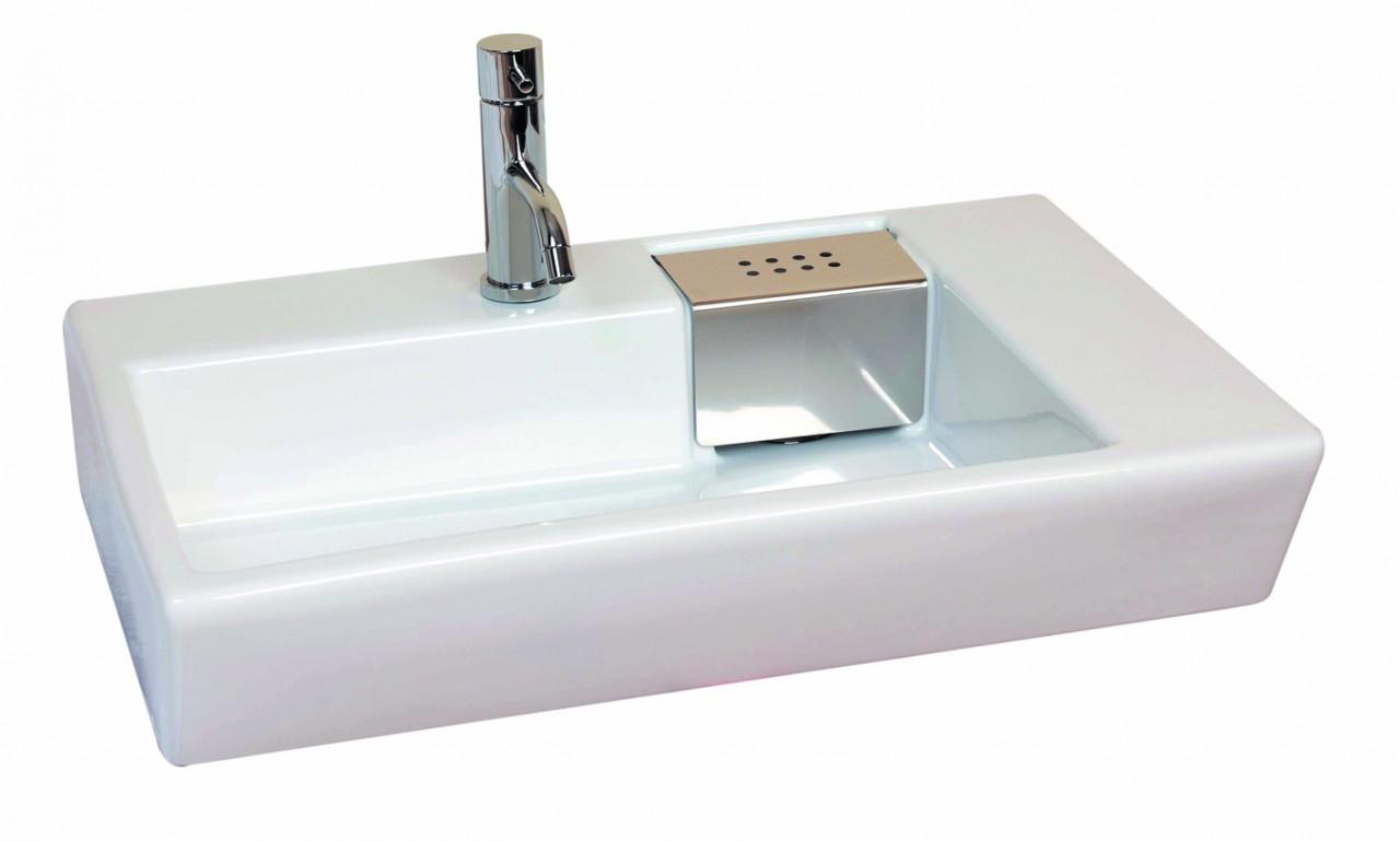 Saneux Schema washbasin inc. chrome QU65-0