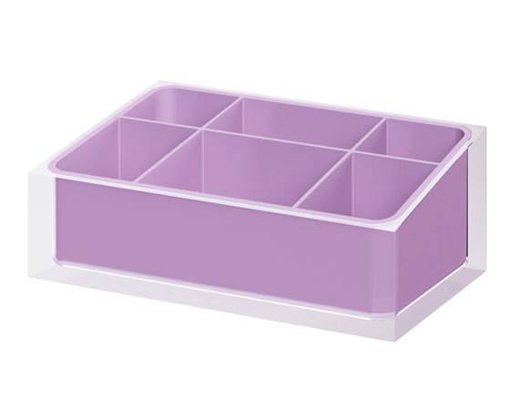 Gedy Rainbow Bathroom Organiser In Lilac RA00-79