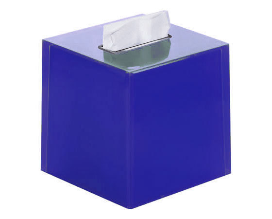 Gedy Rainbow Square Bathroom Tissue Box in Blue RA02-05