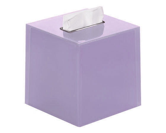 Gedy Rainbow Square Tissue Box In Lilac RA02-79