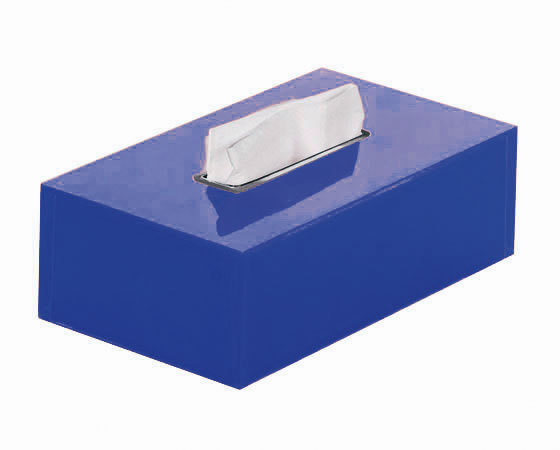 Gedy Rainbow Rectangular Tissue Box In Blue RA08-05