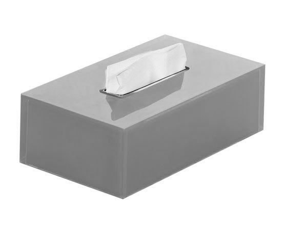 Gedy Rainbow Bathroom Tissue Box in Silver Colour RA08-73
