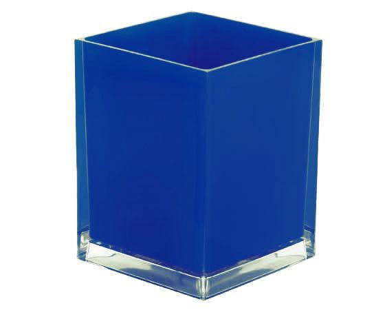 Gedy Rainbow Waste Basket/Bin In Blue RA09-05