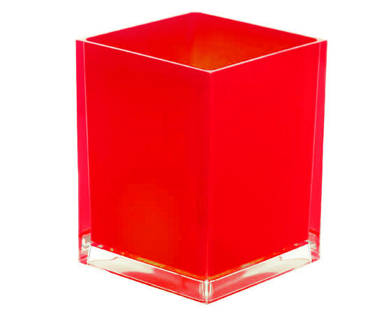 Gedy Rainbow Waste Bin 6L In Red RA09-06