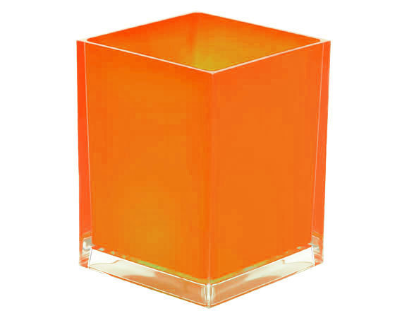 Gedy Rainbow Waste Bin 6L in Orange RA09-67