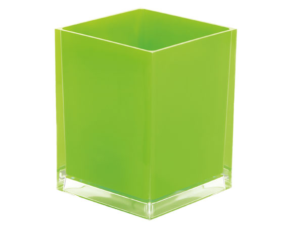 Gedy Rainbow Waste Bin 6L In Green RA09-04-0