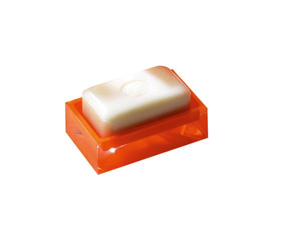Gedy Rainbow Soap Dish in Glossy Orange RA11-67