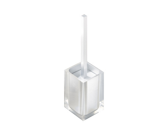 Gedy Rainbow Toilet Brush In Glossy White RA33-02