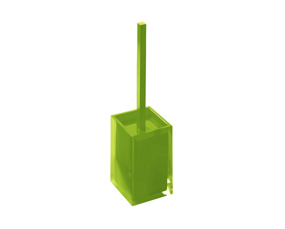 Gedy Rainbow Toilet Brush In Glossy Green RA33-04