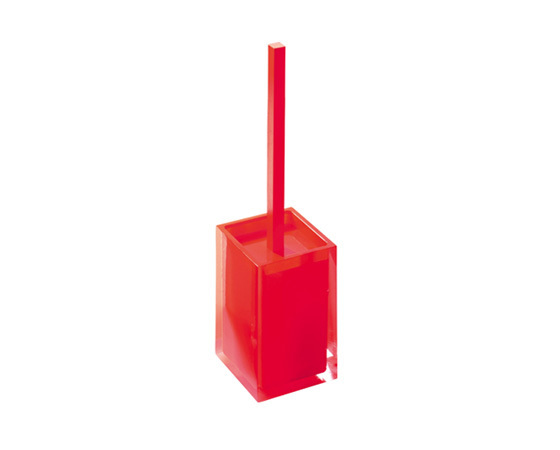 Gedy Rainbow Toilet Brush In Glossy Red RA33-06Gedy Rainbow Toilet Brush In Glossy Red RA33-06