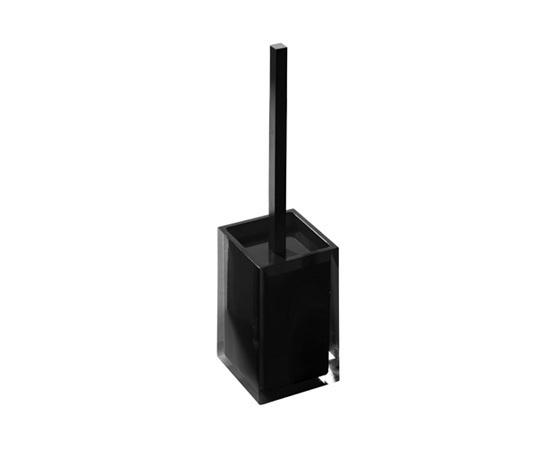 Gedy Rainbow Toilet Brush In Glossy Black RA33-14