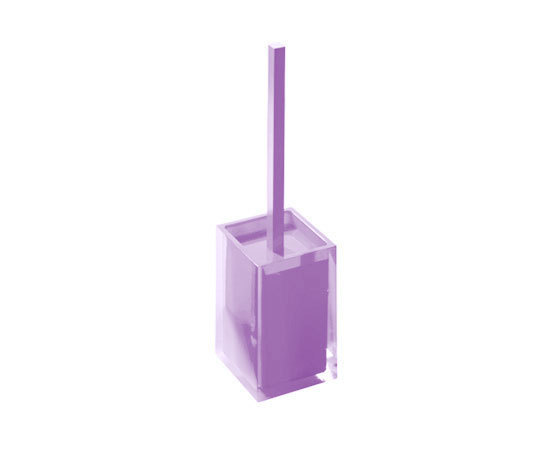 Gedy Rainbow Toilet Brush In Lilac RA33-79