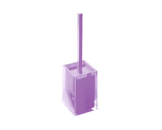 Gedy Twist Toilet Brush In Lilac 4633-79-0
