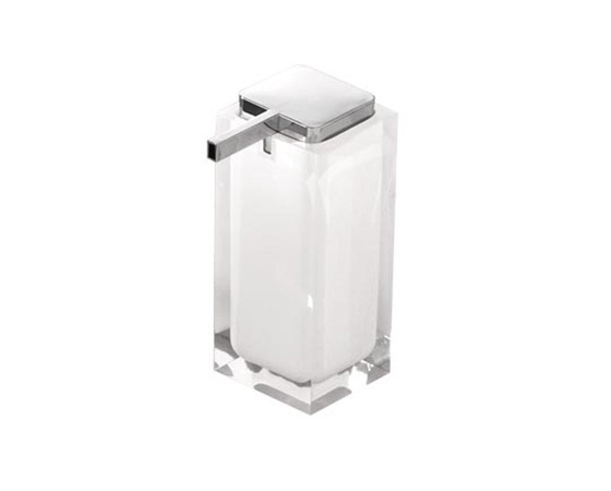 Gedy Rainbow Large Soap Dispenser In White RA80-02