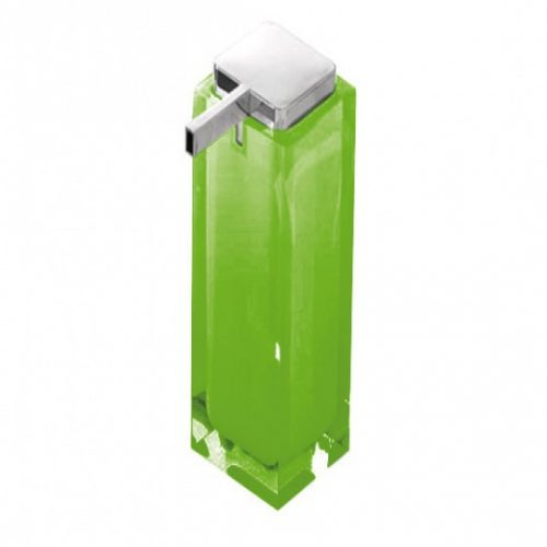 Gedy Rainbow Large Soap Dispenser In Green RA80-04