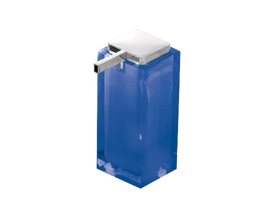 Gedy Rainbow Large Soap Dispenser In Blue RA80-05