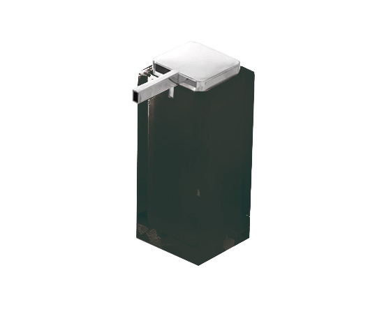 Gedy Rainbow Large Soap Dispenser In Black RA80-14