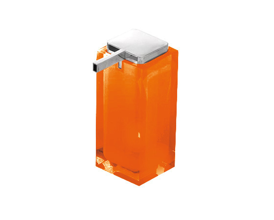 Gedy Rainbow Large Soap Dispenser In Orange RA80-67