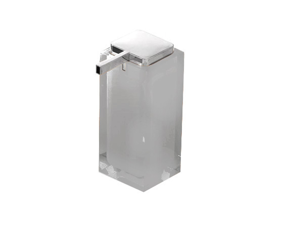 Gedy Rainbow Large Soap Dispenser In Silver RA80-73