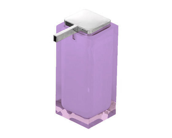 Gedy Rainbow Large Soap Dispenser In Lilac RA80-79