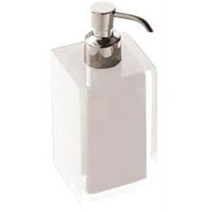 Gedy Rainbow Soap Dispenser in Glossy White RA81-02
