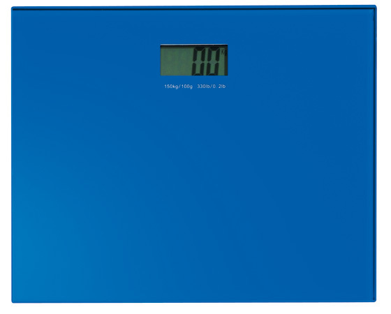 Gedy Rainbow Electronic Scale In Blue RA90-05