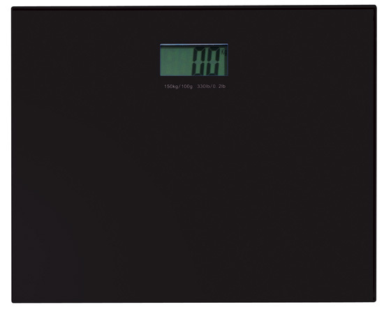 Gedy Rainbow Electronic Bathroom Scales in Black RA90-14