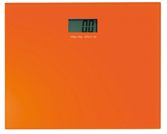 Gedy Rainbow Electronic Bathroom Scales in Orange RA90-67