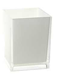 Gedy Rainbow Bathroom Tumbler in Glossy White RA98-02