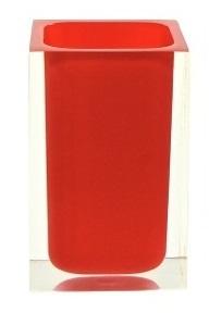 Gedy Rainbow Bathroom Tumbler in Glossy Red RA98-06
