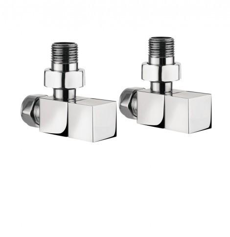 Bauhaus Elite Angle Minimalist Square Rad Valves RADVA2