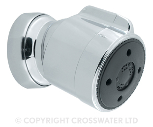 Crosswater Chrome Adjustable Body Jets RB753C
