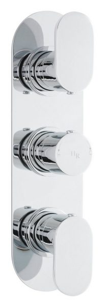 Hudson Reed Reign Triple Concealed Thermo Valve REI3411