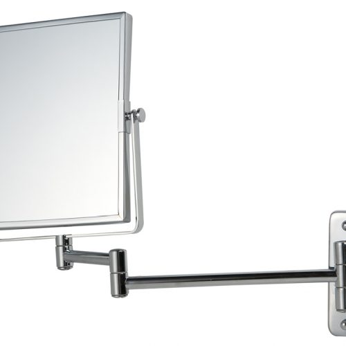Reversable Square Frame Mag Wall Mirror in Chrome 055153