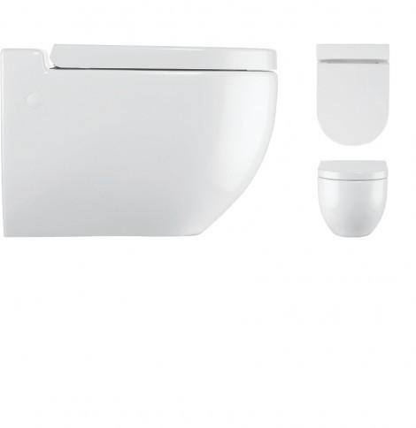 Crosswater Stream II Wall Mounted Toilet Pan RG6006CW