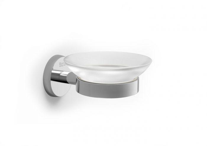 Roca Twin Chrome Soap Dish 120.TWSH