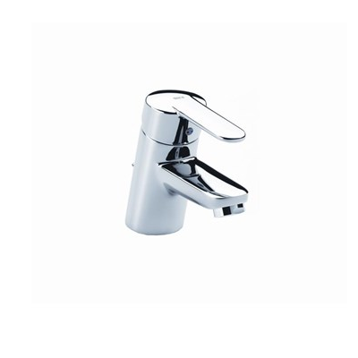 Roca Victoria Chrome Mono Basin Mixer With Waste 120.V2MBMW-0
