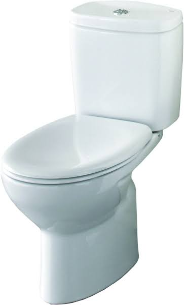 Roca Laura Eco Flush Close Coupled Toilet with a Soft Close Seat-0