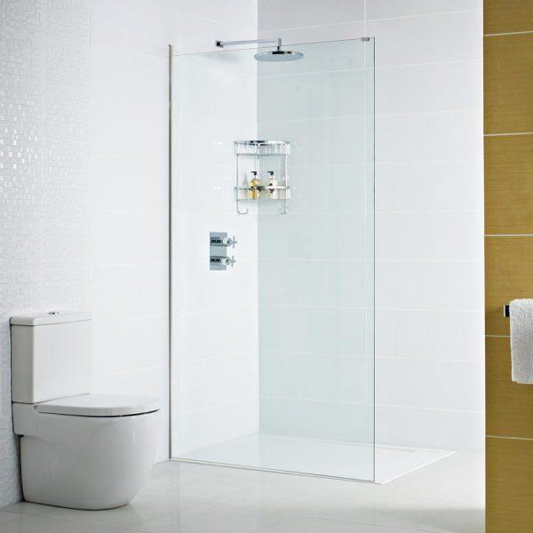 Roman Decem 800 722 - 740mm 10mm Wetroom Panel DXFCP8CF