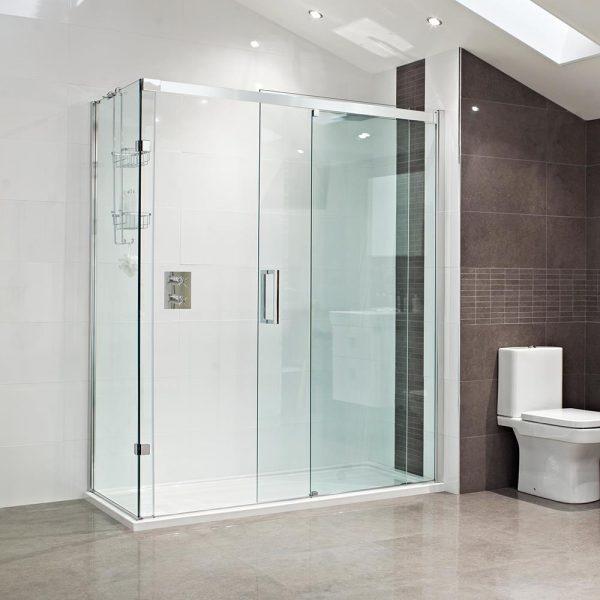 Buy Online Roman Decem Left 1200 10mm Sliding Door For Alcove