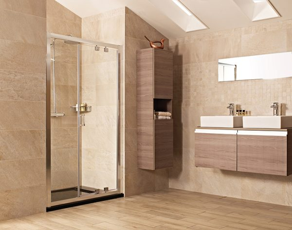 Roman Lumin8 1200 Inswing Shower Door V8K1213S