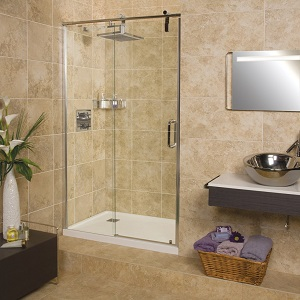 Roman Sculptures Sliding 1200 10mm Shower Door for Alcove ST12A