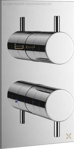 Mike Pro Thermostatic Bath Shower Valve Chrome PRO1500RC