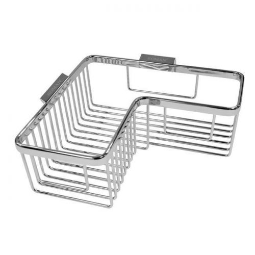 Roman L shaped wall shower basket caddy RSB04