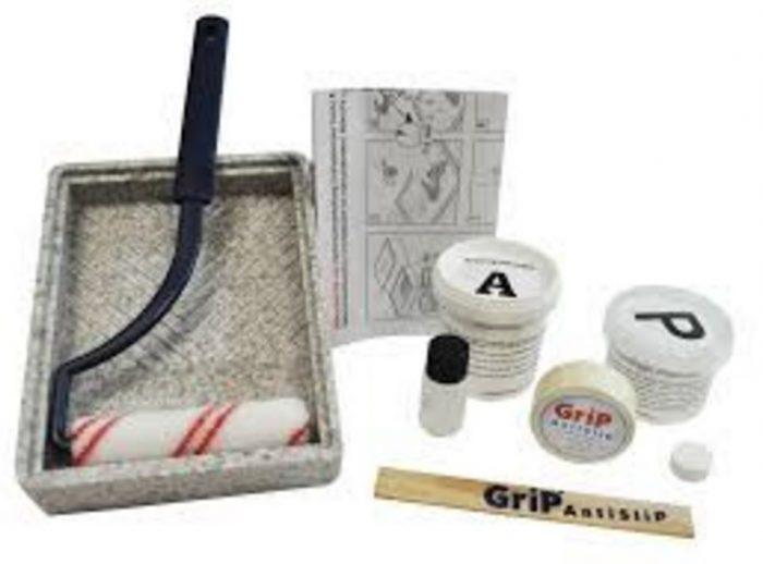 Roman shower tray anti slip treatment kit